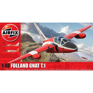 Airfix Folland Gnat 1:48 Plastic Kits