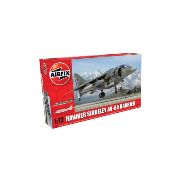 Airfix Hawker Siddeley Harrier Av-8A 1:72 Plastic Kits