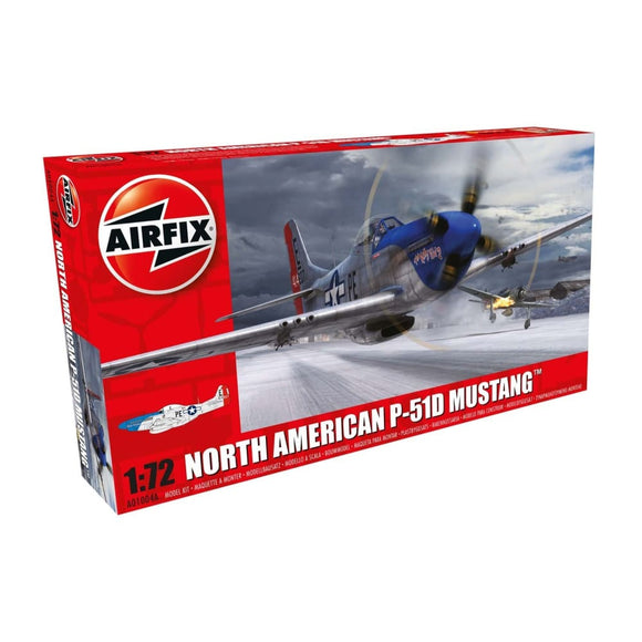 Airfix North American P-51D Mustang 1:72 Plastic Kits