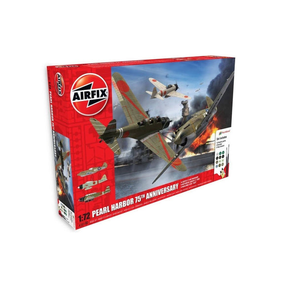 Airfix Pearl Harbor - 75Th Anniversary Gift Set 1:72 Plastic Kits