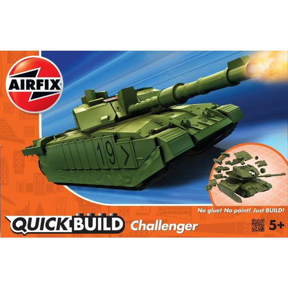 Airfix Quick Build Challenger Tank Plastic Kits