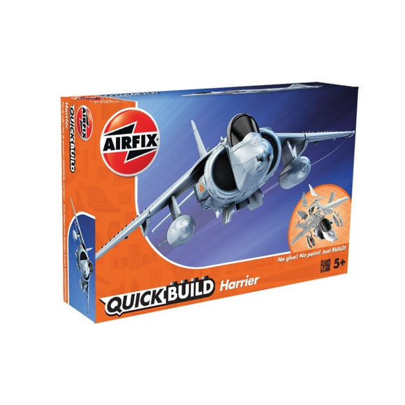 Airfix Quick Build Harrier Plastic Kits