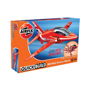 Airfix Quick Build Raf Red Arrows Hawk Plastic Kits