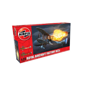 Airfix Royal Aircraft Factory Be2C - Night Fighter 1:72 Plastic Kits