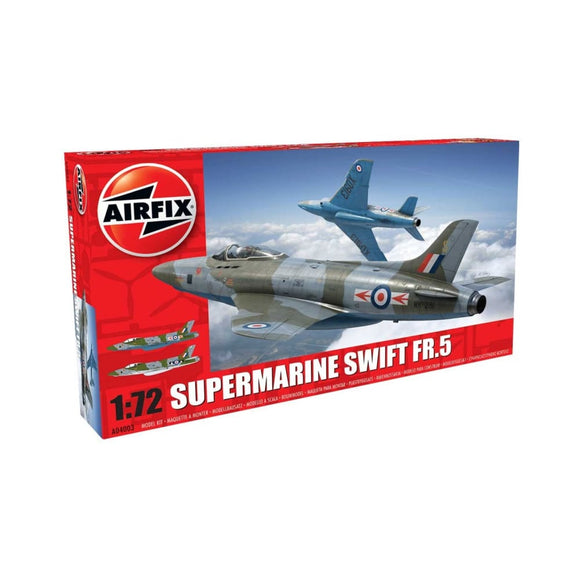 Airfix Supermarine Swift F.r. Mk5 1:72 Plastic Kits