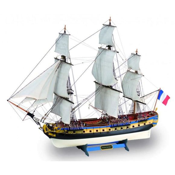 Artesania Wooden Model Ship Kit: New La Fayette Hermione Frigate 1/89 Wood Kits