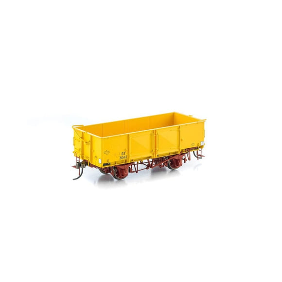 Auscision Gy Wagon Vr Hansa Yellow 6 Car Pack Vfw-27 Ho Rolling Stock
