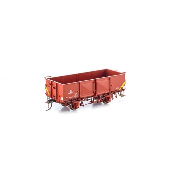 Auscision Gy Wagon Vr Wagon Red 6 Car Pack Vfw-29 Ho Rolling Stock