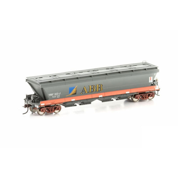 Auscision Vhgf Grain Hopper V/line Freight / Abb Single Car Vgh-38 Ho Rolling Stock