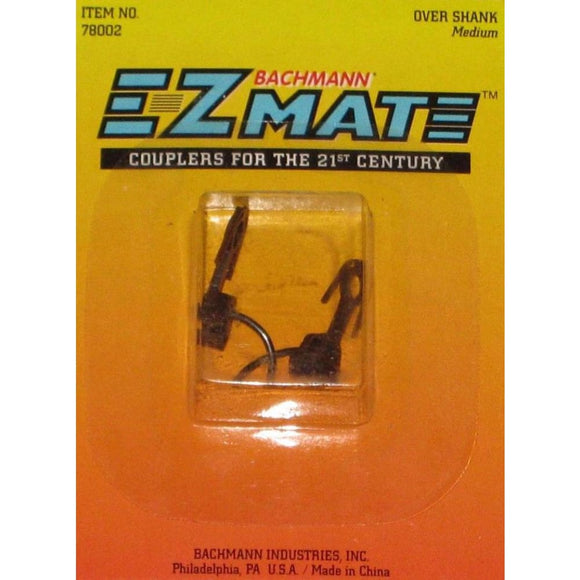 Bachmann 78002 Ez Mate Over Shank Medium Couplings / Couplers Model Railway Accessories