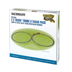 Bachmann Steel Alloy E-Z Track® Figure 8 Track Pack (Ho Scale) Model Railway Accessories