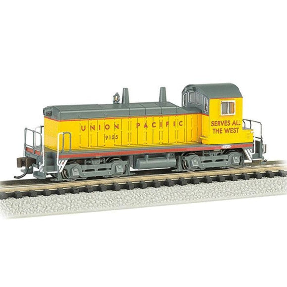 Bachmann Usa 61651 Emd Nw-2 Switcher - Dcc - Union Pacific #9155 - N Scale Locomotive N Locomotives