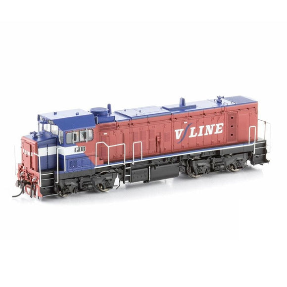 Bendigo Rail Models P Class Locomotive P11 V/line Pass Mk1 P-5 Ho Locomotives