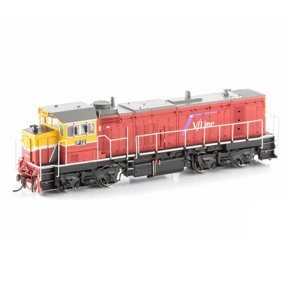 Bendigo Rail Models P Class Locomotive P12 V/line Pass Mk3 P-10 Ho Locomotives