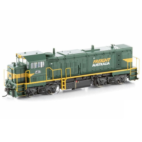 Bendigo Rail Models P Class Locomotive P19 Freight Australia P-11 Ho Locomotives