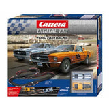 Carrera Digital 132 Ford Fastback Slot Racing Set Slot Cars