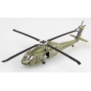 Easy Model 1/72 Helicopter Uh-60A Blackhawk Model Aircraft Assembled Models