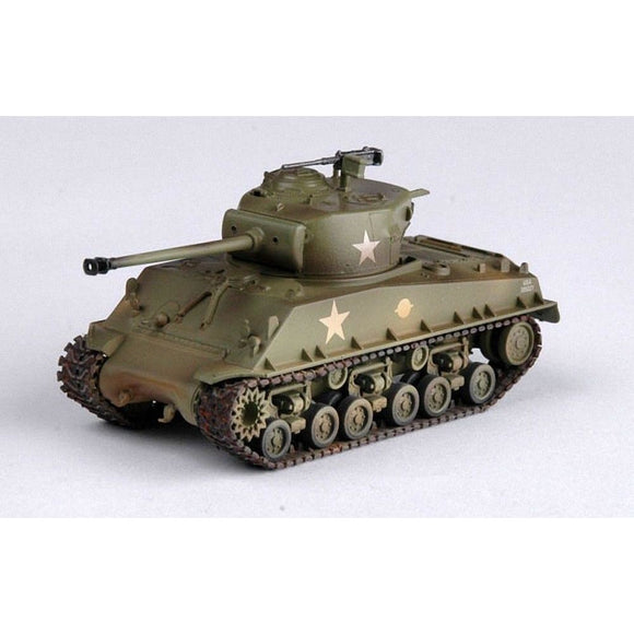 Easy Model 1:72 - M4A3E8 - Middle Tank U.s Army Assembled Models