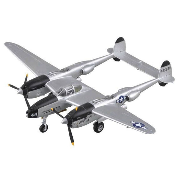 Easy Model Winged Ace 1/72 Scale P-38 Pre-Assembled/painted Plastic Model Assembled Models