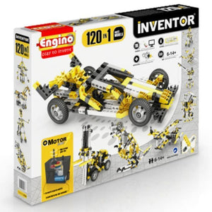 Engino Inventor Set - 120 In 1 Motor Power Multi Models Inventor Series