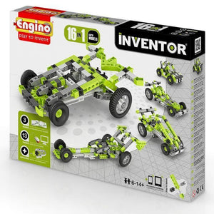 Engino Inventor Set - 16 Models Of Cars Inventor Series