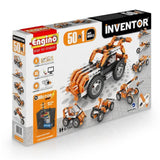 Engino Inventor Set - 50 In 1 Motor Power Multi Models Inventor Series