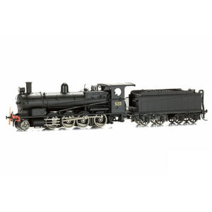 Eureka Models Nswgr 50 Class Superheated 5133 Beyer-Peacock Non Sound Weathered Ho Locomotives