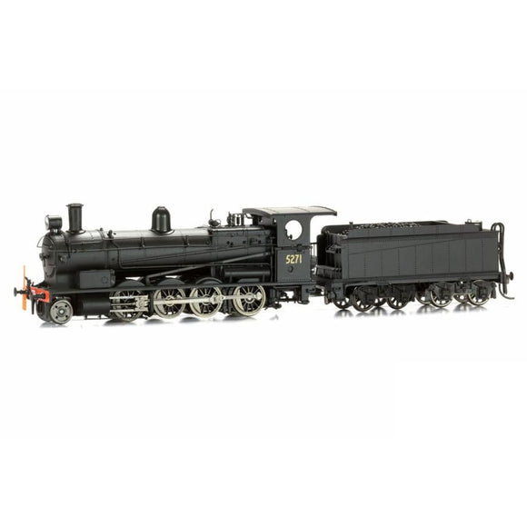 Eureka Models Nswgr 50 Class Superheated North British 5271 Non Sound Weathered Ho Locomotives