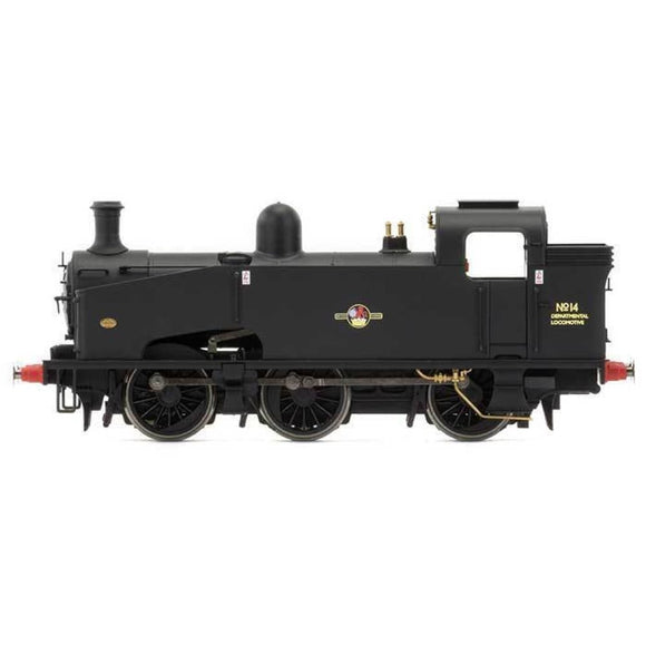 Hornby Br 0-6-0T Departmental No.14 J50 Class - Late Br Oo Locomotives