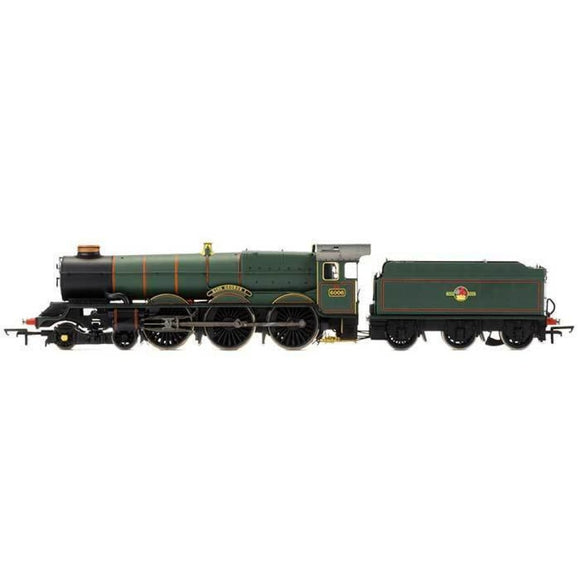 Hornby Br 4-6-0 King George I 6000 King Class Late Br With Tts Sound Oo Locomotives