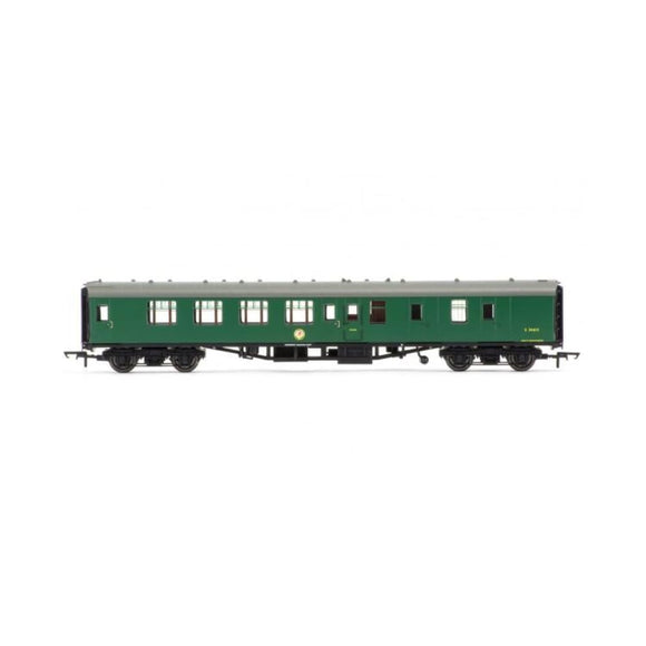 Hornby Br Mk1 Coach Corridor Brake 2Nd Class Br Green Oo Rolling Stock