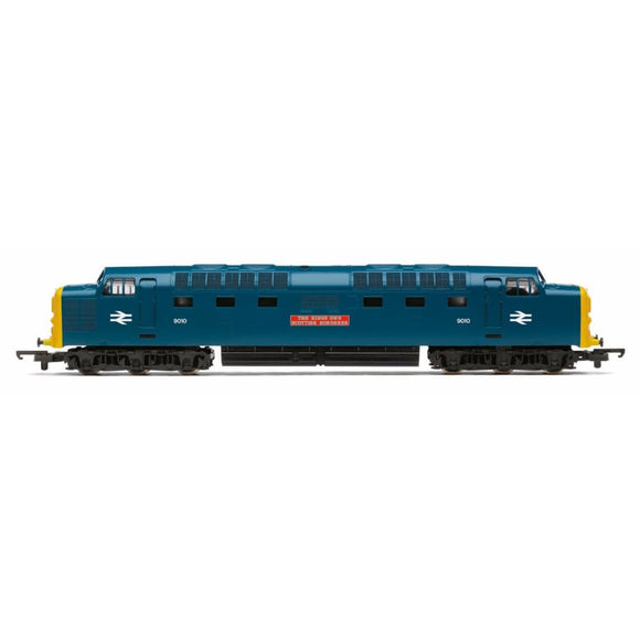 Hornby Railroad Br Class 55 The Kings Own Scottish Borderer Oo Locomotives