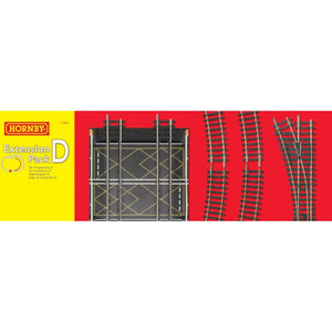 Hornby Track Extension Pack D Model Railway Track