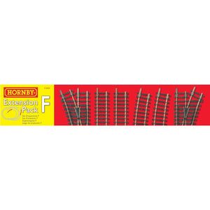 Hornby Track Extension Pack F Model Railway Track