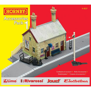 Hornby Trakmat Accessories Pack 1 Model Railway Accessories