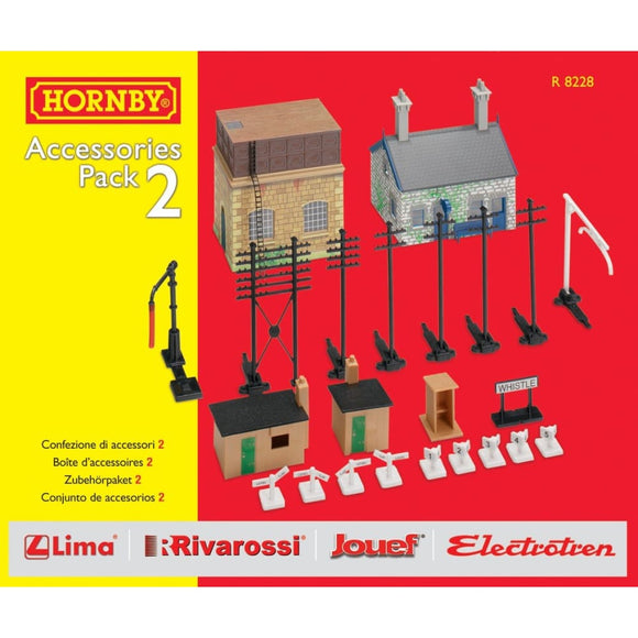 Hornby Trakmat Accessories Pack 2 Model Railway Accessories