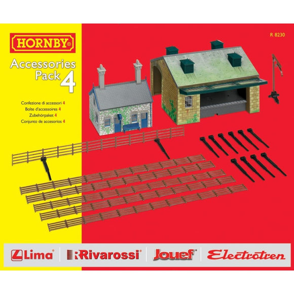 Hornby Trakmat Accessories Pack 4 Model Railway Accessories