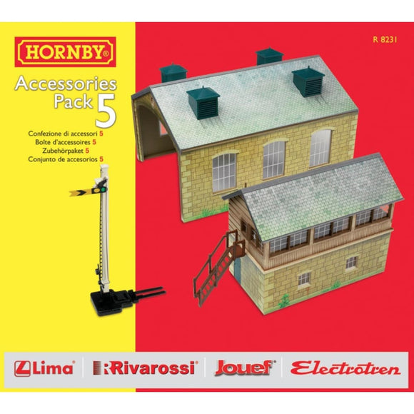 Hornby Trakmat Accessories Pack 5 Model Railway Accessories