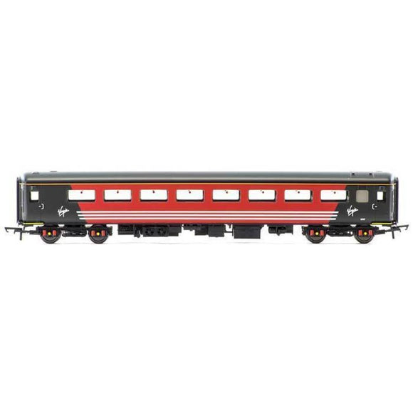 Hornby Virgin Mk2E Coach Standard Open With Lights Oo Rolling Stock