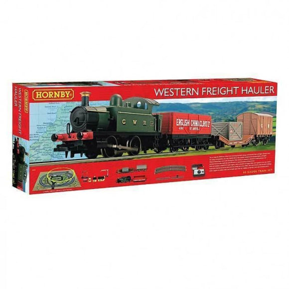 Hornby Western Freight Hauler Train Set Train Sets