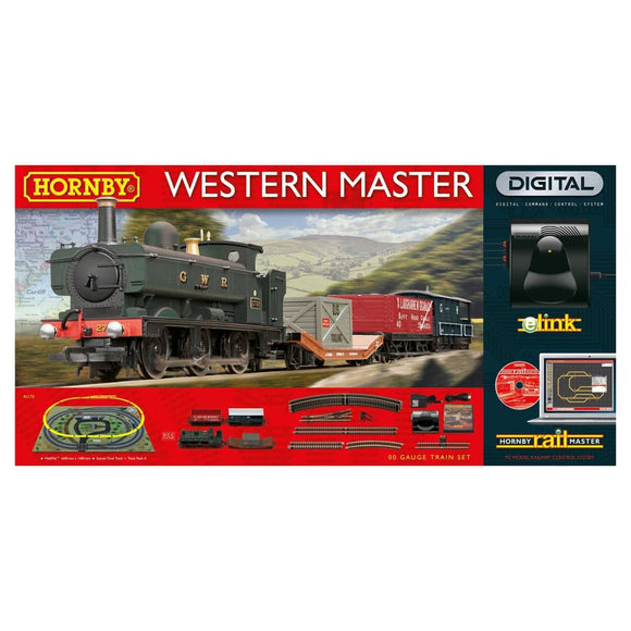 Hornby Western Master Digital Train Set With Elink Train Sets