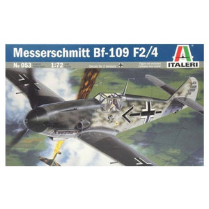 Italeri 1/72 Bf109 F24 Messerschmitt Model Kit Plastic Kits