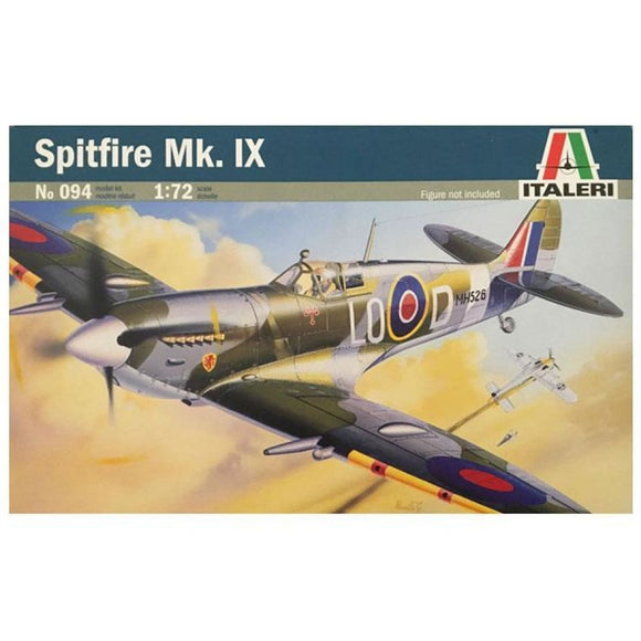 Italeri 1/72 Spritfire Mk Ix Model Aircraft Kit Plastic Kits