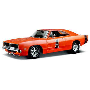 Maisto Design - 1:25 1969 Dodge Charger - Harley Davidson Special Edition Die Cast Cars