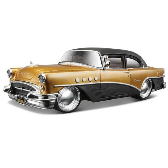 Maisto Design - 1:26 1955 Buick Century - Outlaws Edition Die Cast Cars