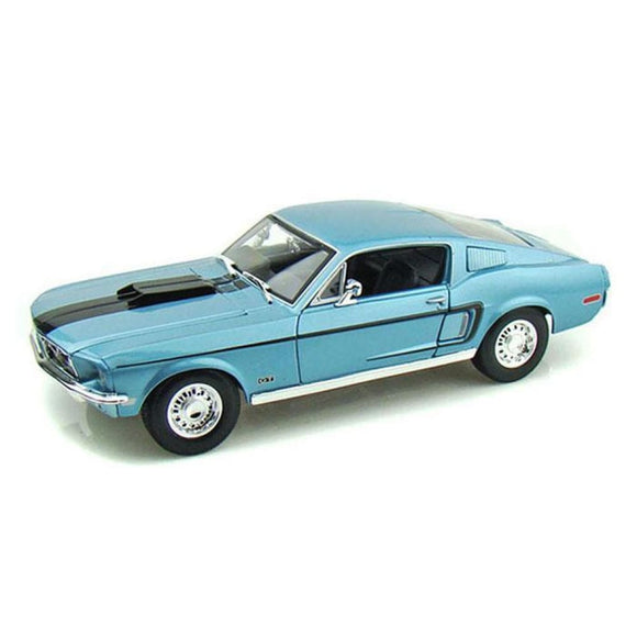 Maisto Special Edition - 1:18 1968 Ford Mustang Gt Cobra Jet Die Cast Cars