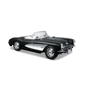 Maisto Special Edition 1:24 1957 Chevrolet Corvette - Black Rare Die Cast Cars