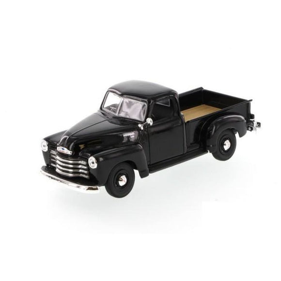 Maisto Special Edition 1:25 1950 Chevrolet 3100 Pickup - Black Die Cast Cars