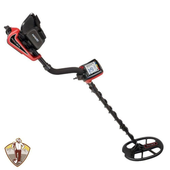 Makro Racer Metal Detector with 11x7 Waterproof Search Coil Metal Detectors