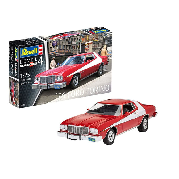 Revell 1/24 76 Ford Torino Scale Model Kit Plastic Kits